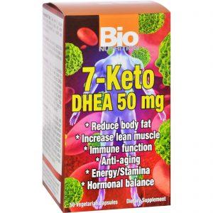 Bio Nutrition 7 Keto DHEA 50 mg – 50 Vegetarian Capsules